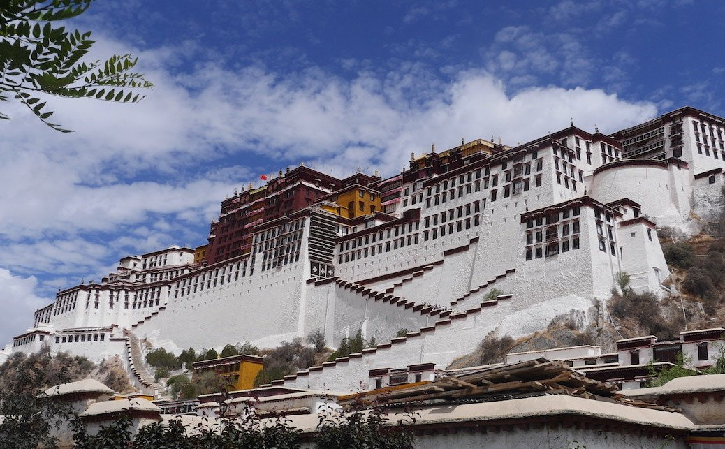 tibet 4 day lhasa tour potala palace