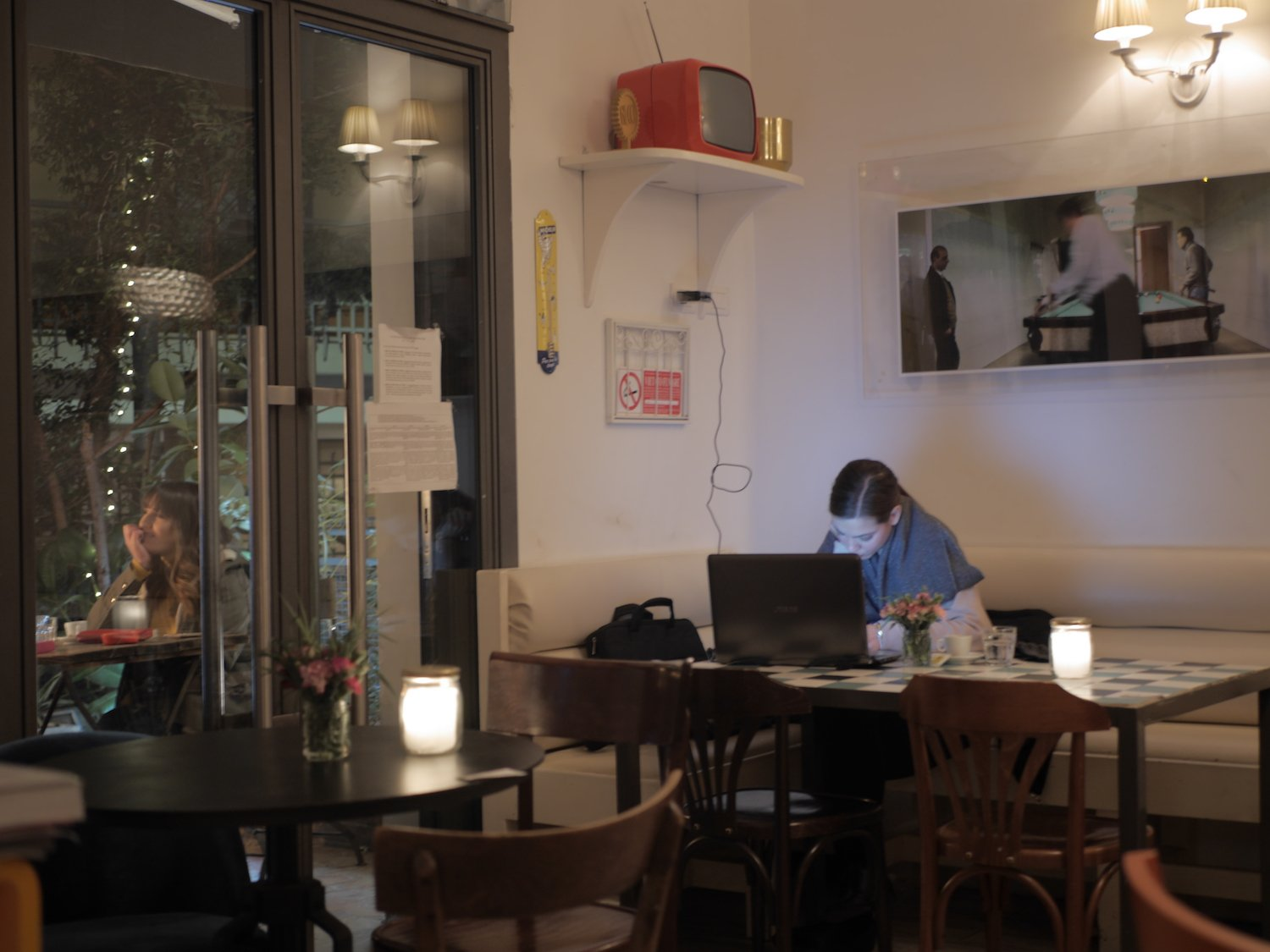 best cafes to sit and work in rome Italy