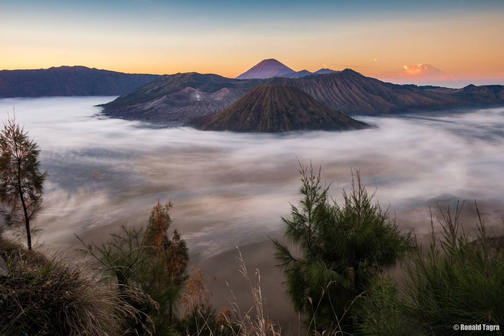 where to go in indonesia volcanoes