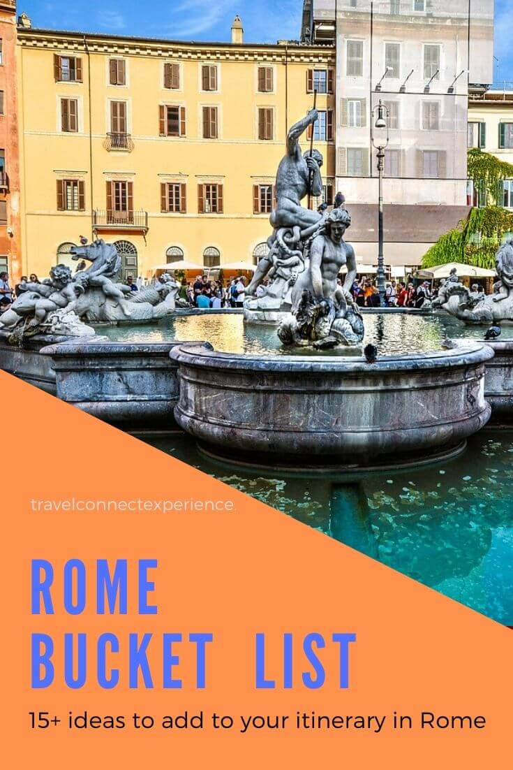ultimate bucket list for Rome