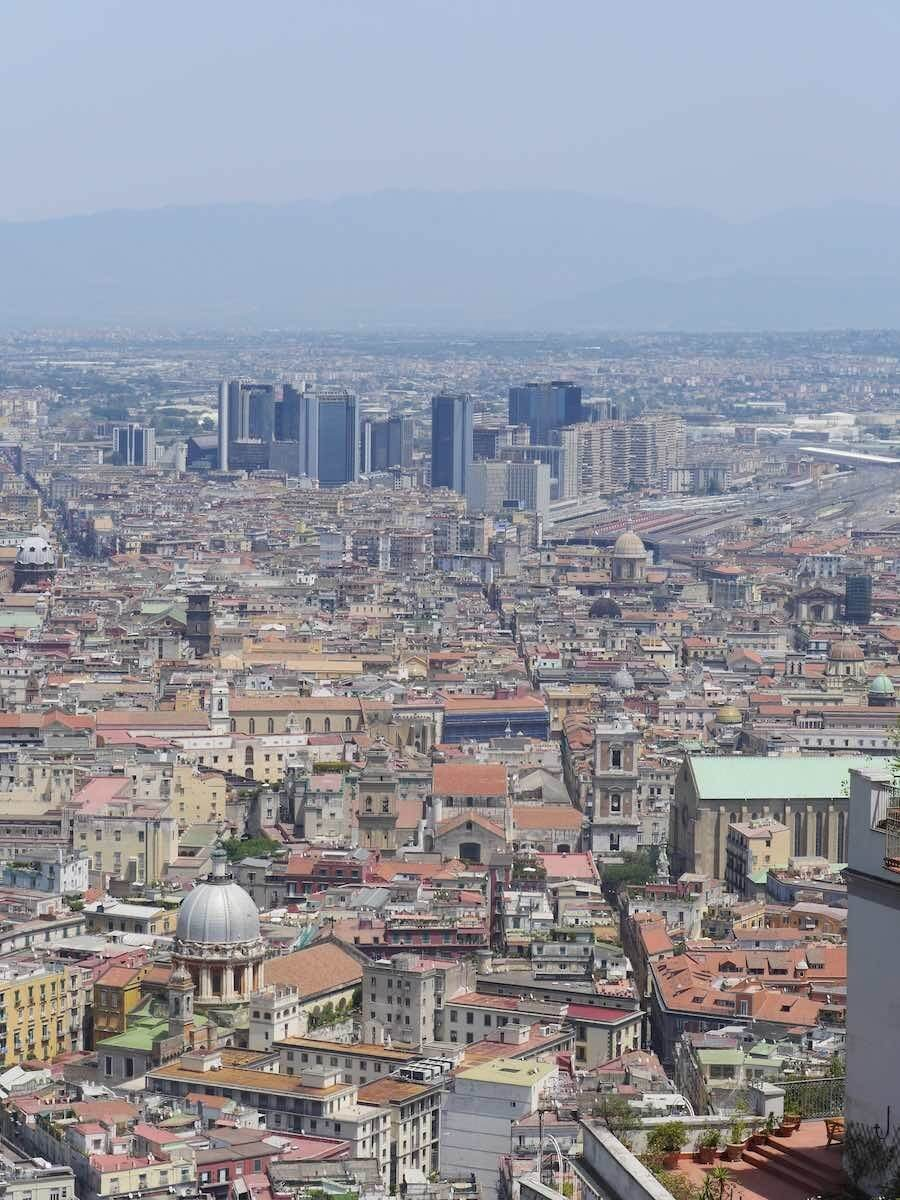 naples in one day itinerary