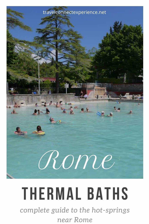 best hot springs near rome