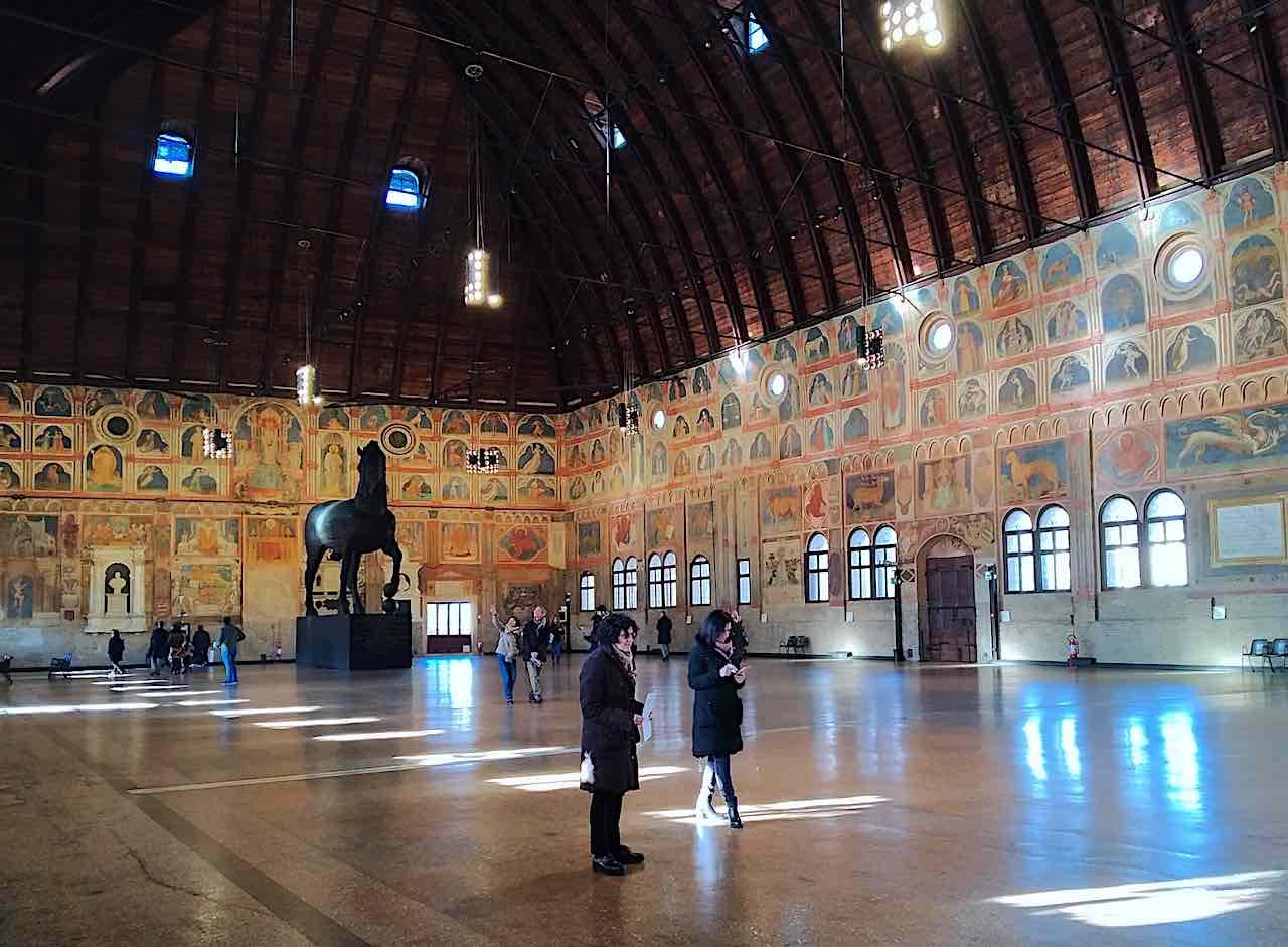 inside the Ragione Palace Padova