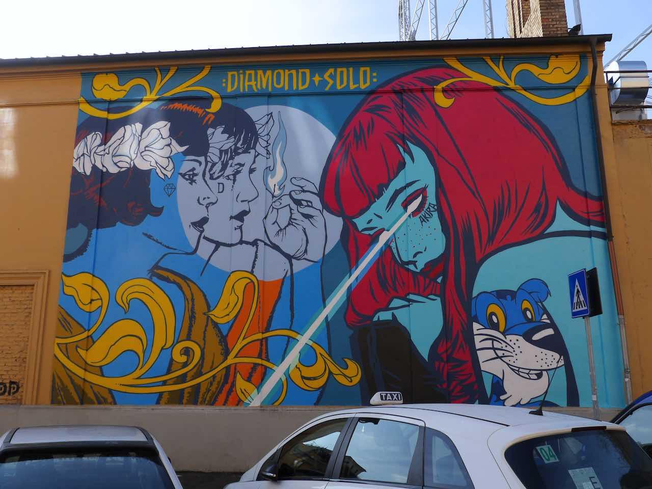 street artists rome