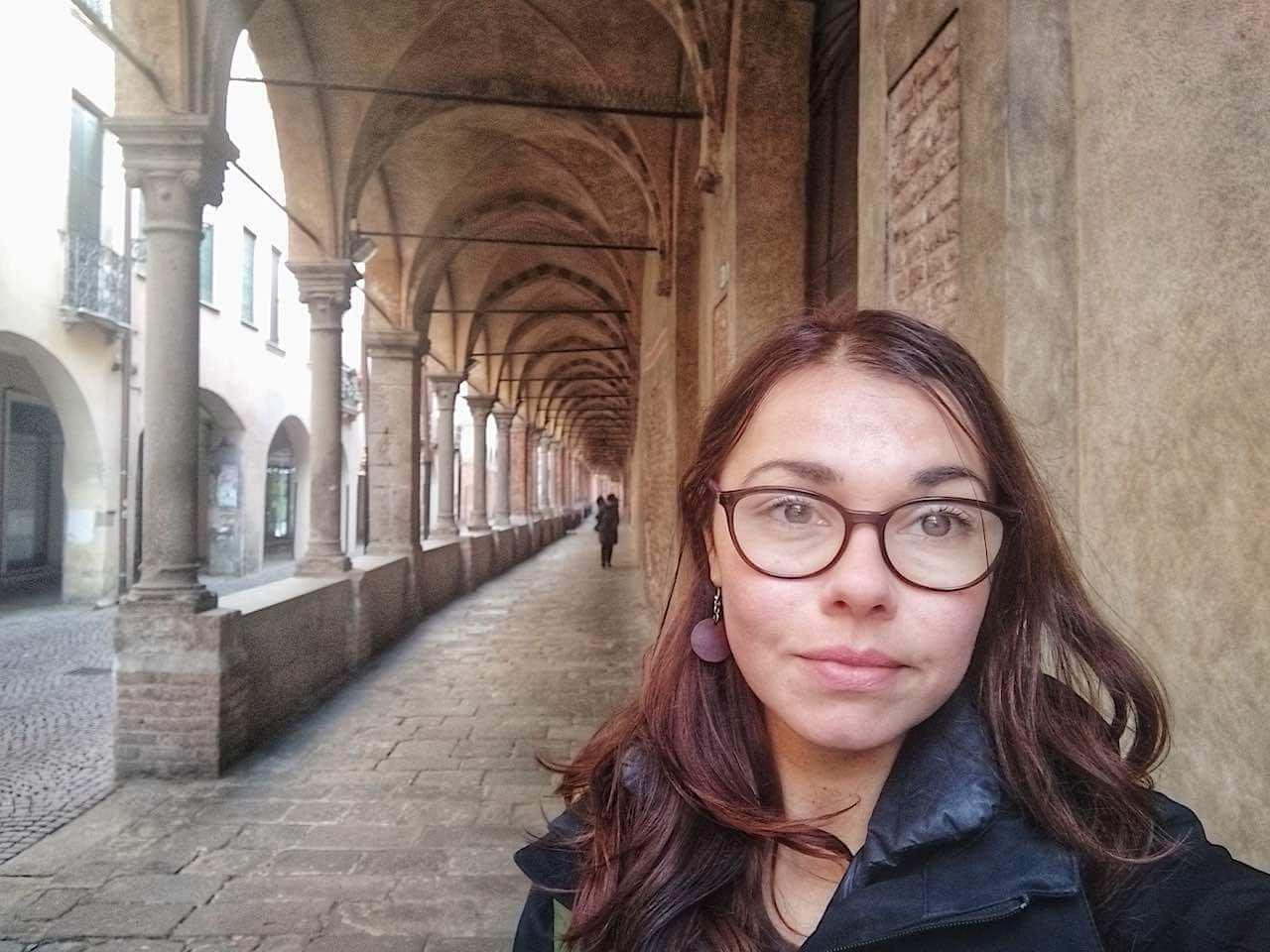 medieval porticos padova