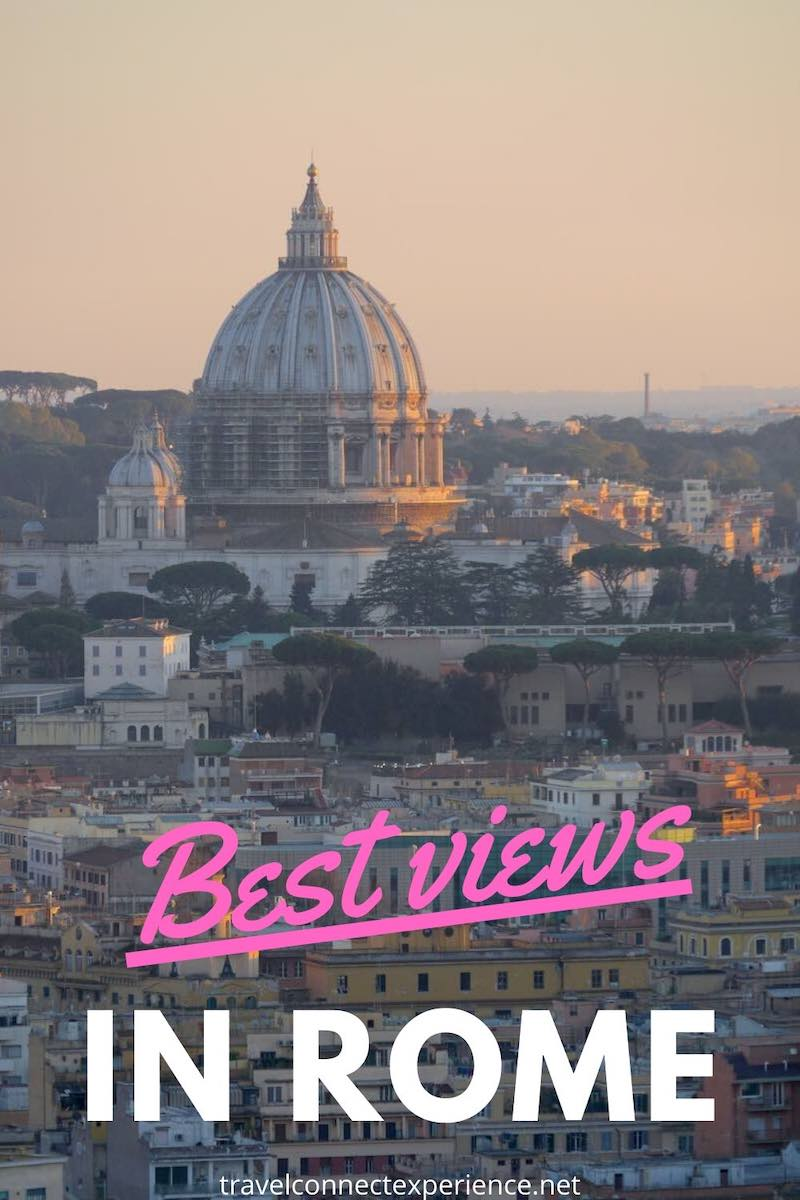 best views of rome italy