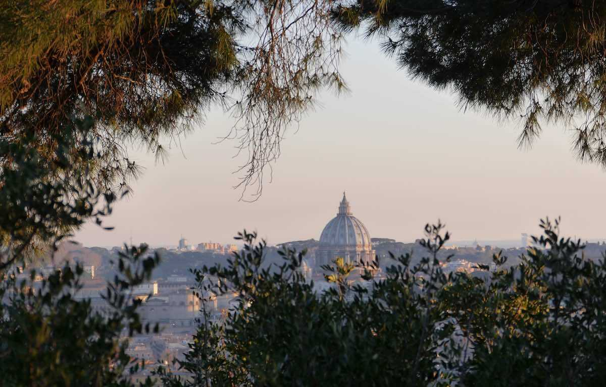 best sunset view in rome