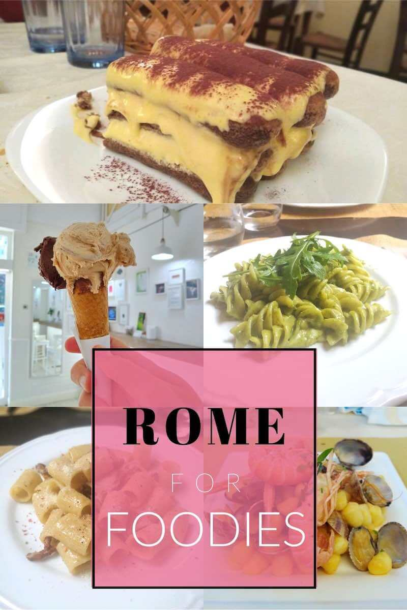 rome for foodies guide