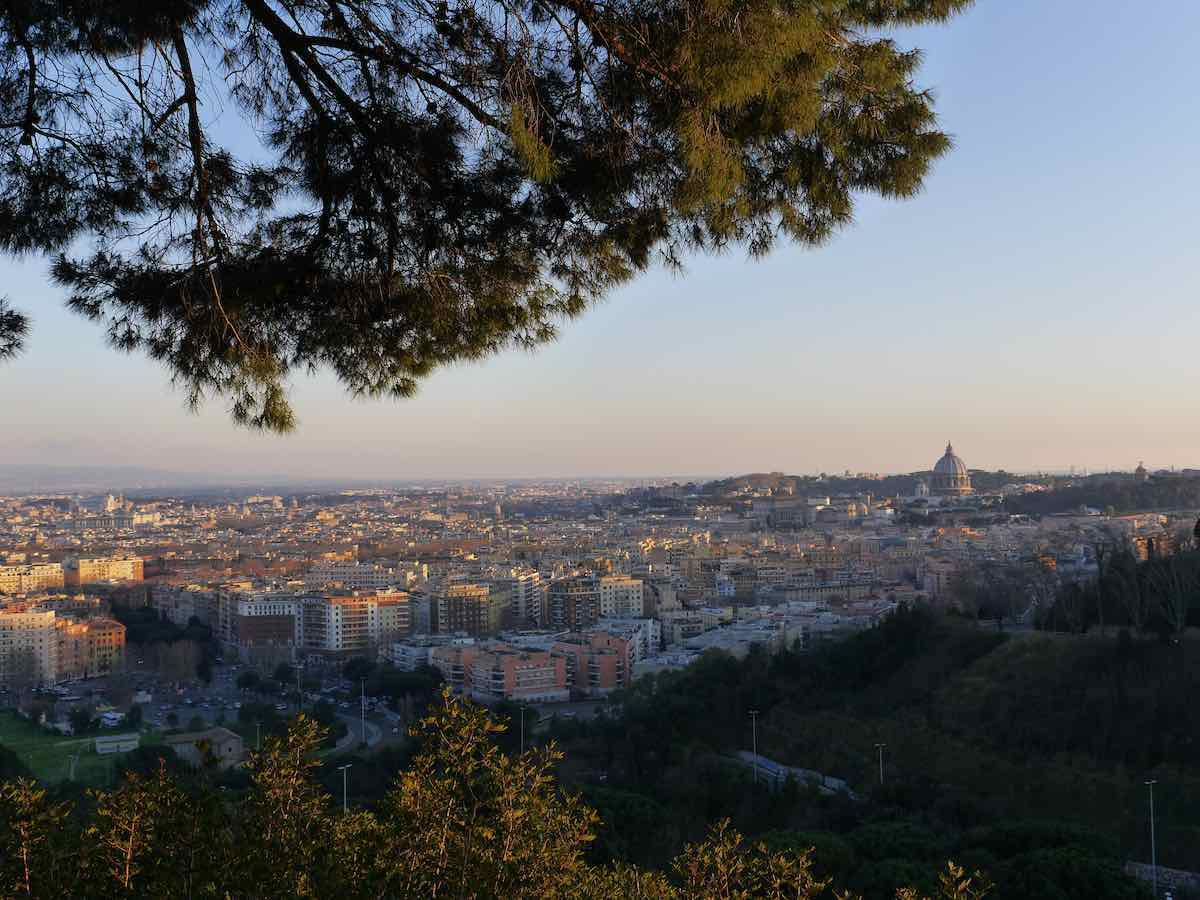 best rome panoramic viewpoint